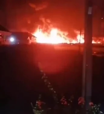 Video: Multi-₦million Properties Destroyed As Petrol Tanker Explodes In Lagos