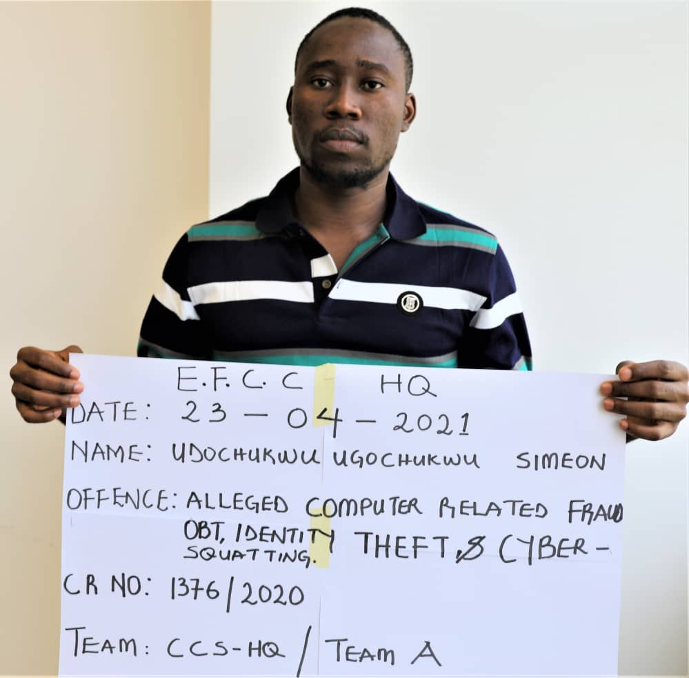 Man Arrested For Cloning EFCC's e-Mail