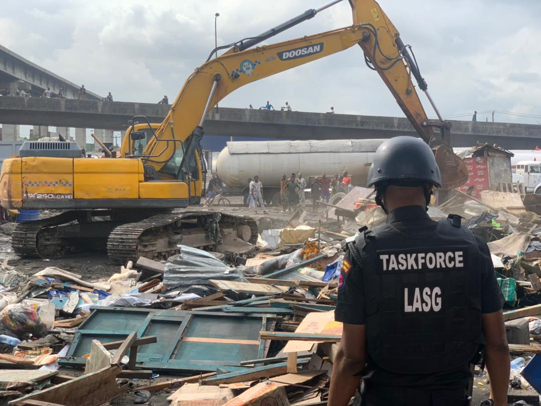 Lagos Will Put Iganmu Under-bridge To Use Immediately - Lagos Taskforce Chairman