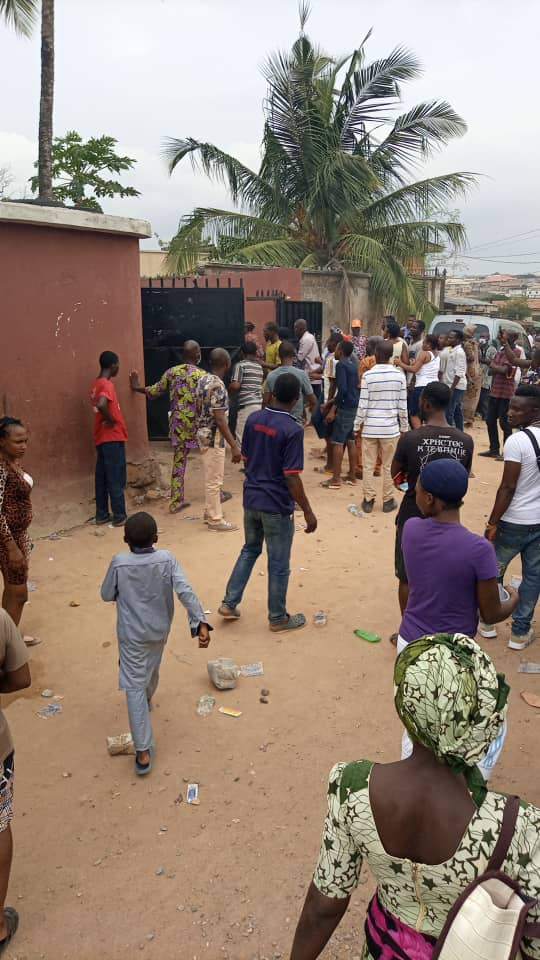 APC LG Primary Update: Watch Video + Photos As ex-Lagos Lawmaker Allegedly Led Thugs To Disrupt Voting In Ifako Ijaiye Ward A
