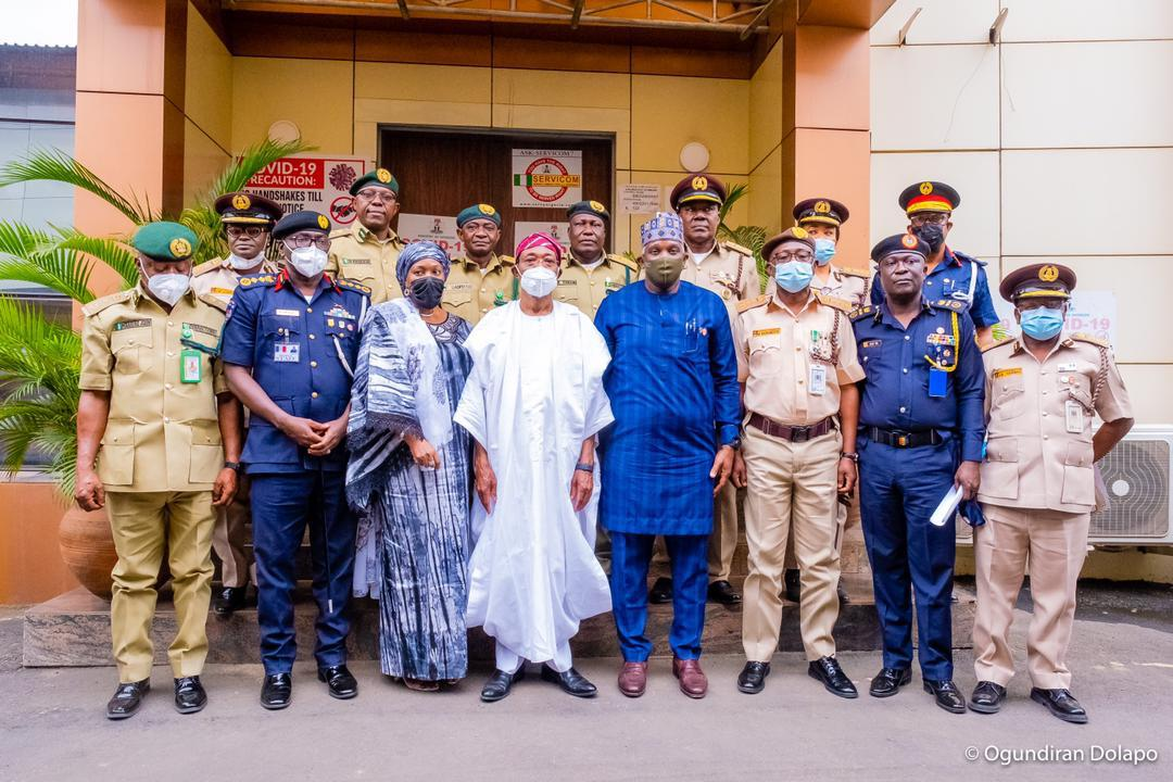 Don't Rest On Your Oars, Ensure You Beat Criminals To Their Games At All Times - Aregbesola As New Services' DCGs Are Decorated