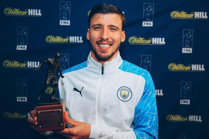Man City Defender Ruben Diaz Named Football Writers' Association's Footballer Of The Year
