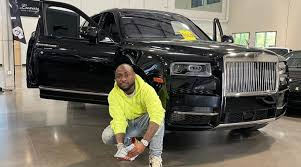 Weeks After Daughter's Birthday, Davido Splashes N240m On Rolls Royce Cullinan
