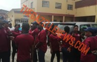 Itire-Ikate LCDA In Crisis: Revenue Collector Slaps Senior Staff; Council Locked Up; NULGE Protests Assault; Commission Summons Council Management + Videos, Photos