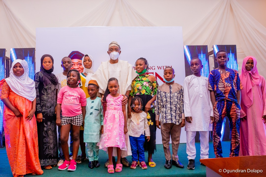 For Our Children's Sake, Let's Stop War Mongering - Aregbesola; Launches OmoOgbeni Educational Foundation