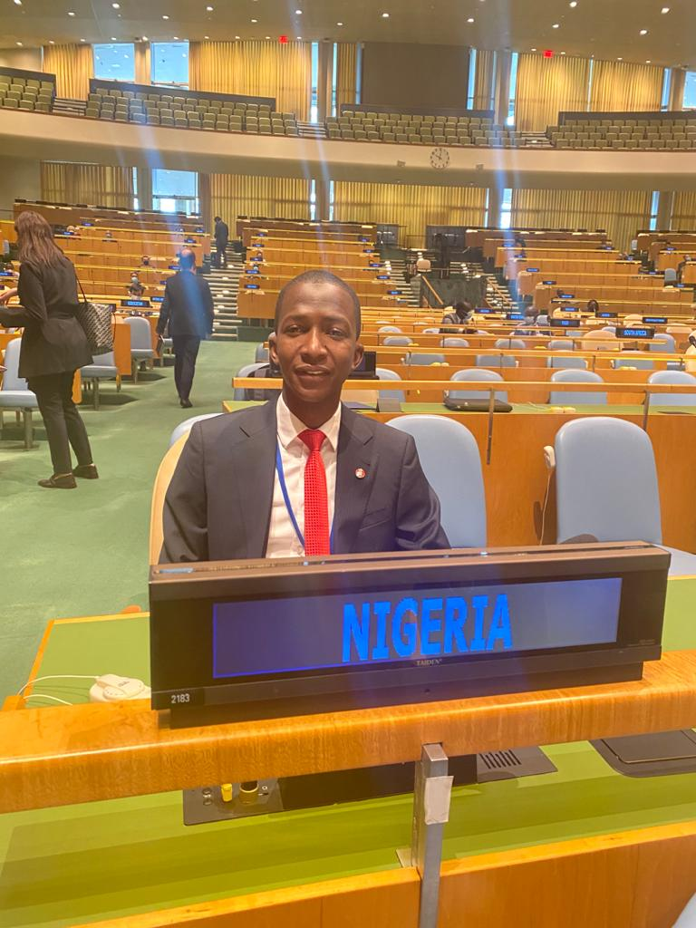 In Pictures, EFCC Boss AbdulRasheed Bawa At UNGA Special Session On Corruption In New York