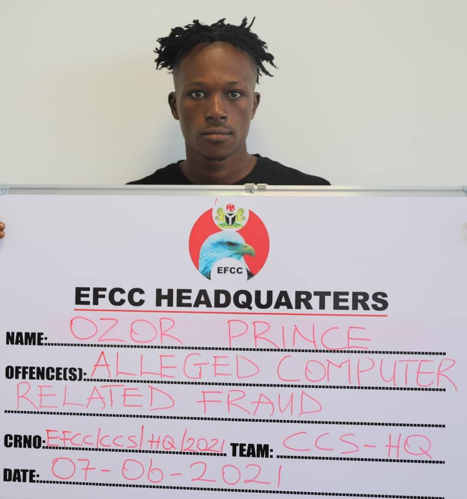 EFCC Arrests Seven suspected Internet Fraudsters in Abuja