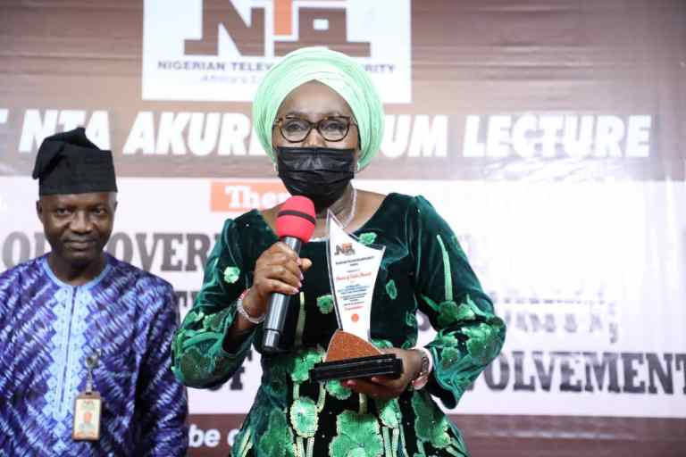 NTA Honours Ondo First Lady With 'Heart of Gold' Award
