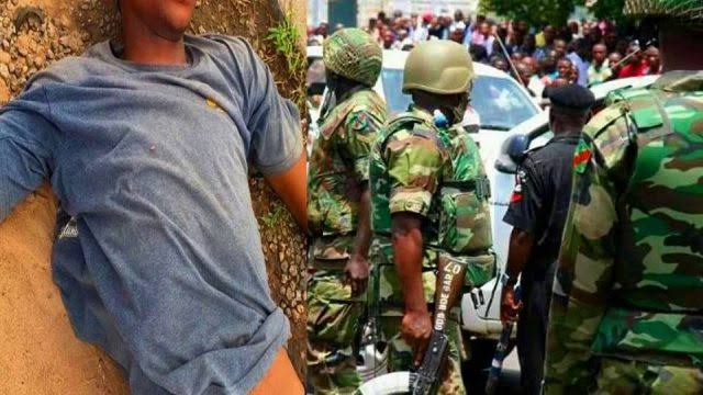 Soldier Commits Suicide After Killing Customs Officer In Seme