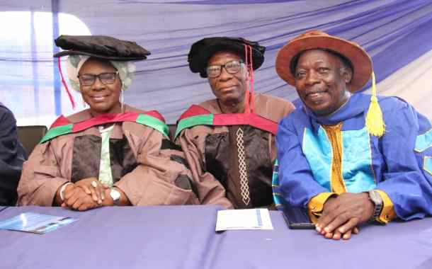In Pictures, Mama Rainbow, Pa James, Others Grace Matriculation Ceremony of The Eko College of Management and Technology (Ekocity)
