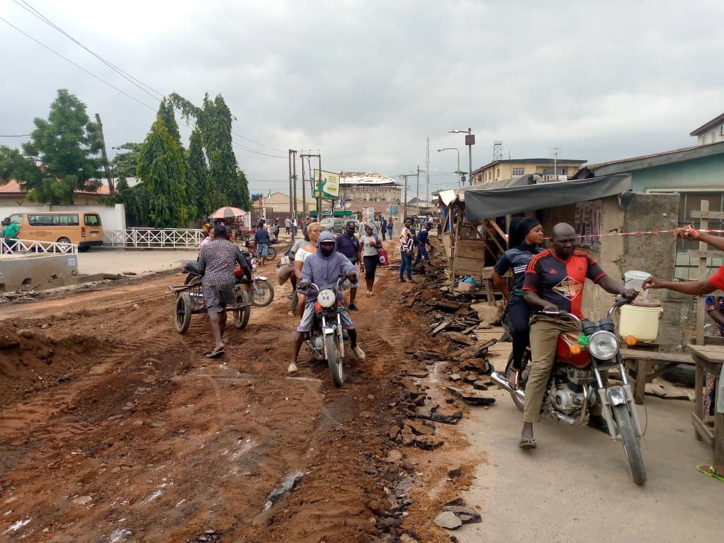 Rehabilitation Of Adeyemi Street Commences As Kendoo Mobilizes LSPWC To Site