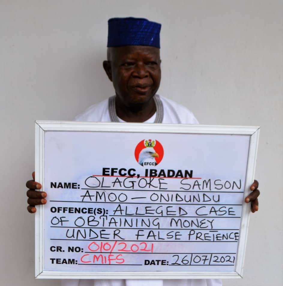 82-yr-old Traditional Ruler Docked For Land Scam; 'Yahoo' Man To Spend Six Months In Prison