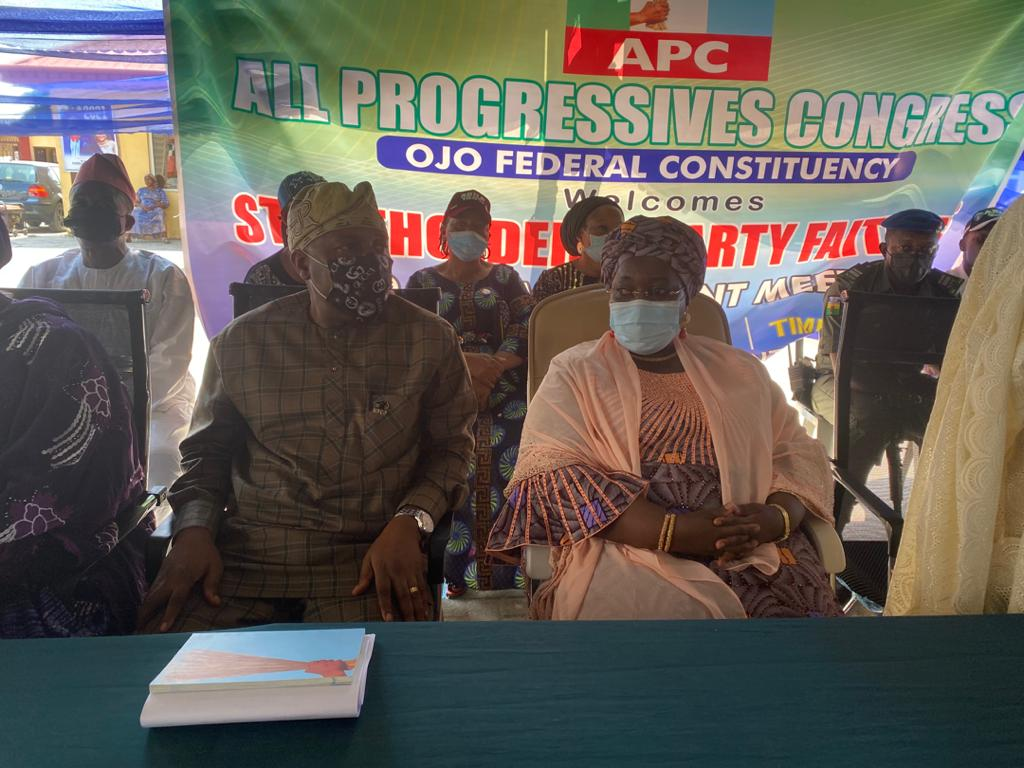 Images As Ojo APC Organises Stakeholders' Meeting On Ward Congress