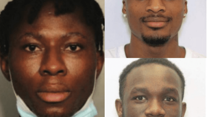 Three Nigerians Arrested In US For Stealing N580m Covid-19 Unemployment Benefits; How ATM Cameras Exposed Them