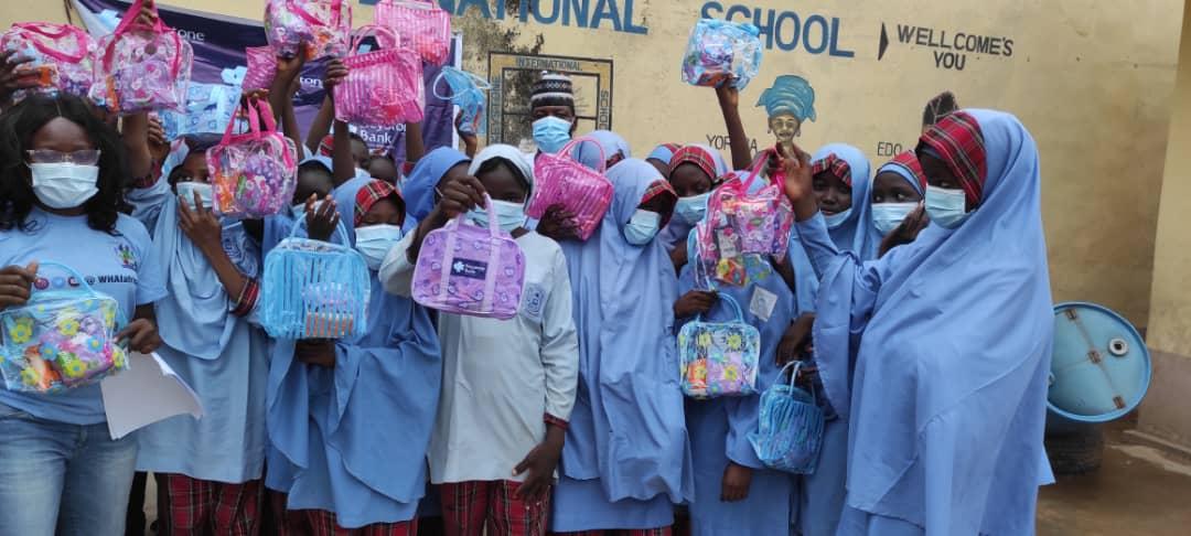 Keystone Bank Donates Sanitary Kits To 3000 Marginalised Girls In North-East