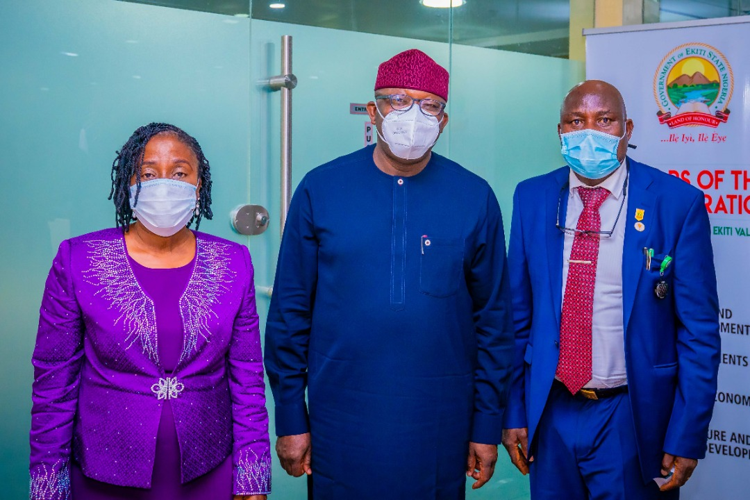 Fayemi Advocates Synergy Among States On Civil Service Matters As Ondo State HOS Visits Ekiti For Peer Review