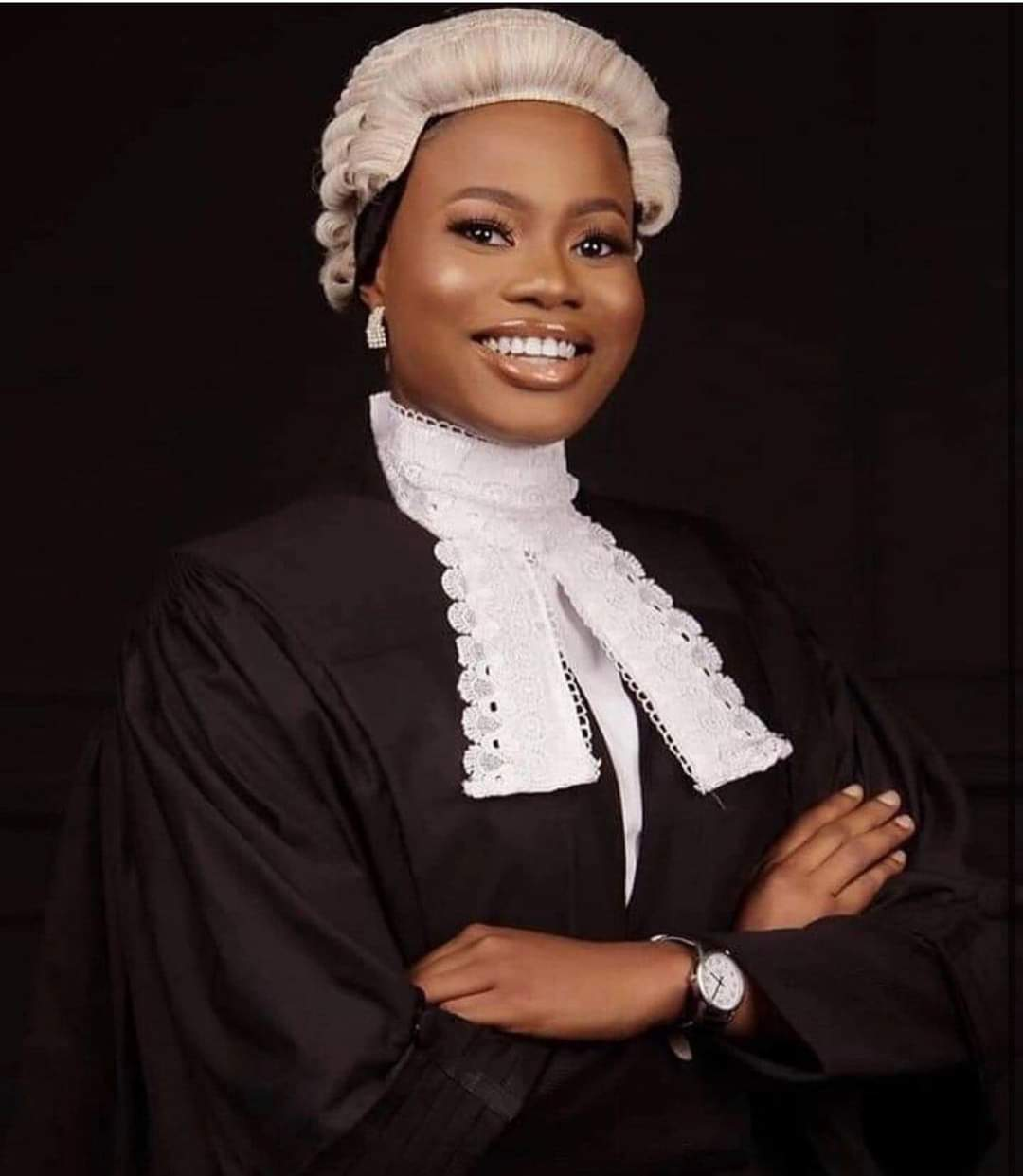 Meet Barr Bukola Who Has Won Best Graduating Student In All Schools She Attended Including Law School Where She Won 16 Awards