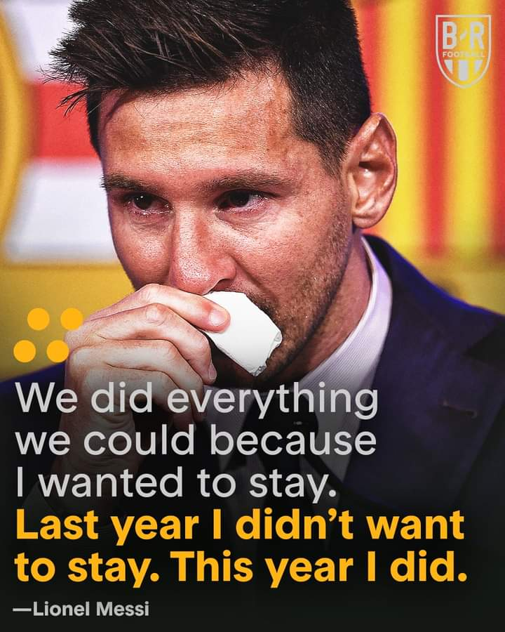 In Pictures, Messi Bids Barca Farewell In Tears