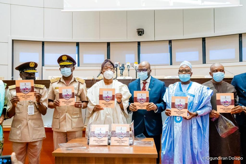 In Pictures, Aregbesola Launches NIS' Code Of Conduct Document, Electronics Data Management System