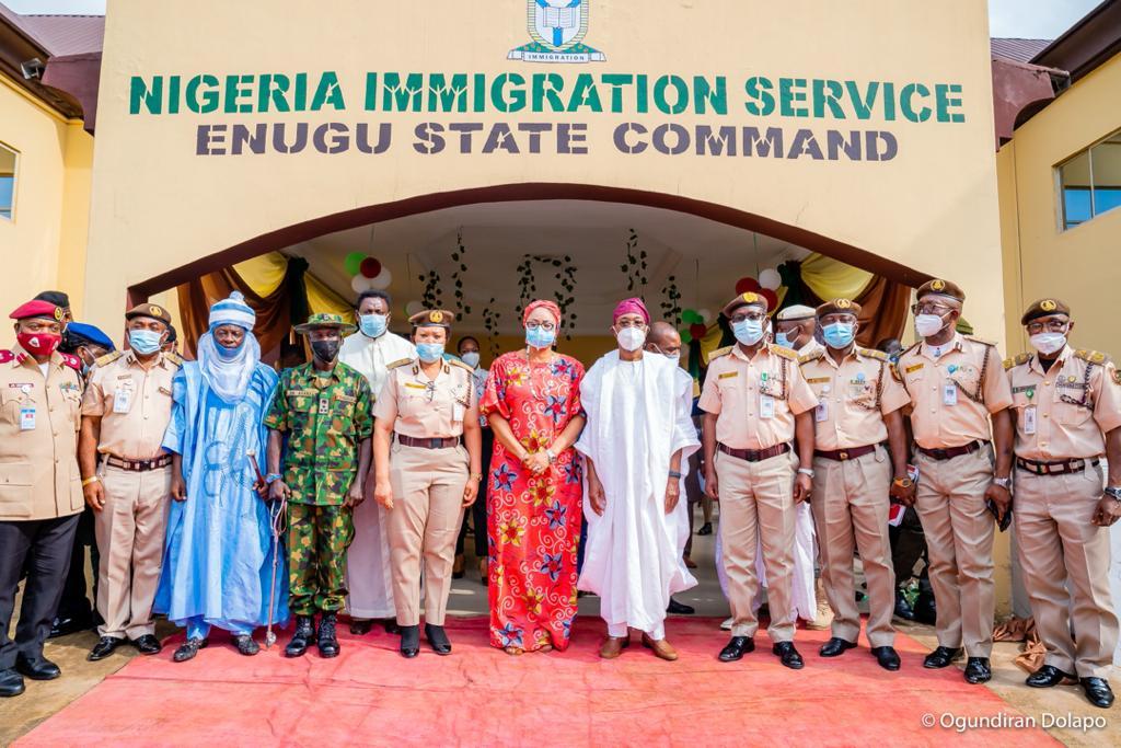 FG Commissions Enugu NIS Command Headquarters
