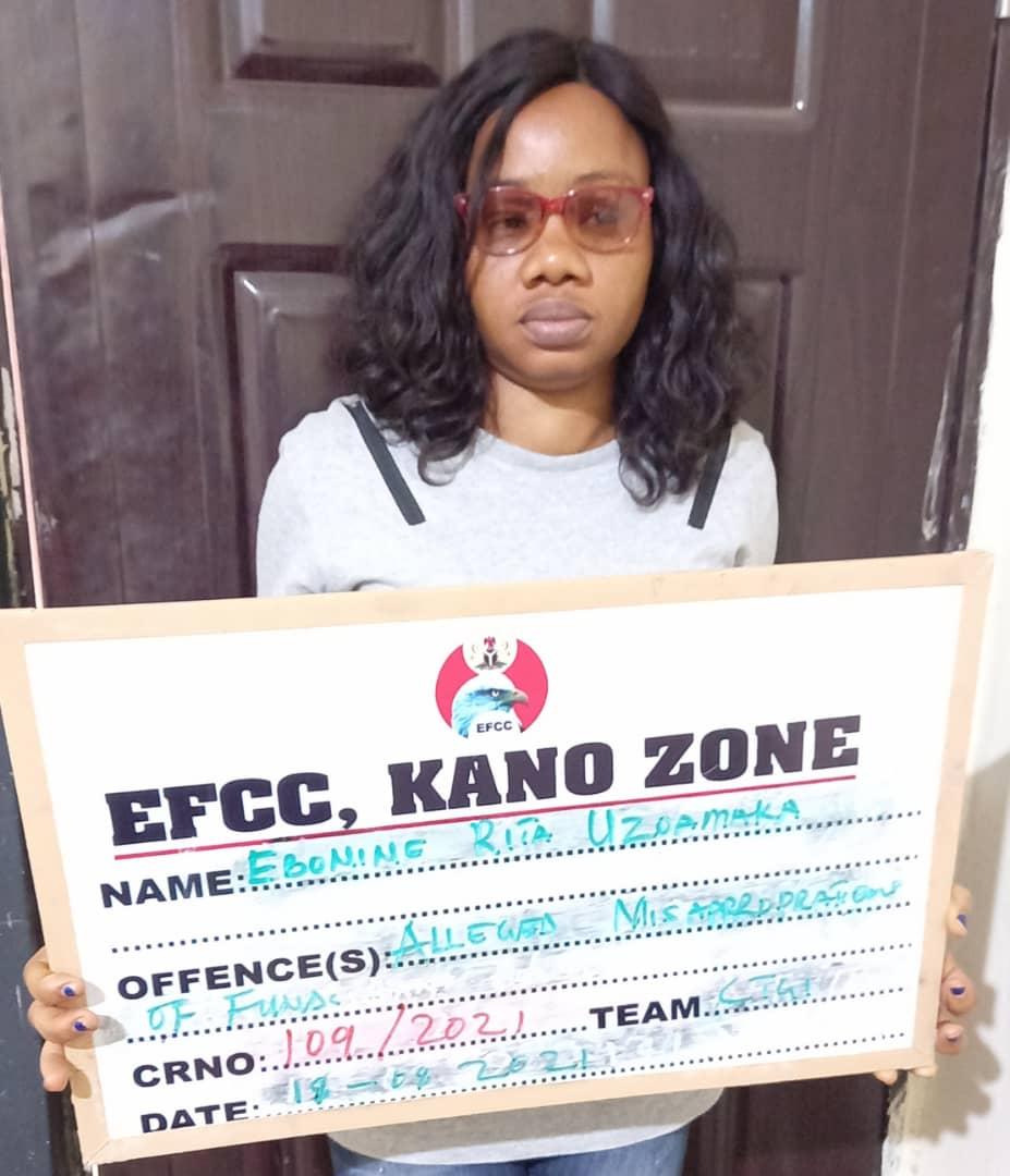 EFCC Arraigns Woman For N5.6m Fraud in Kano