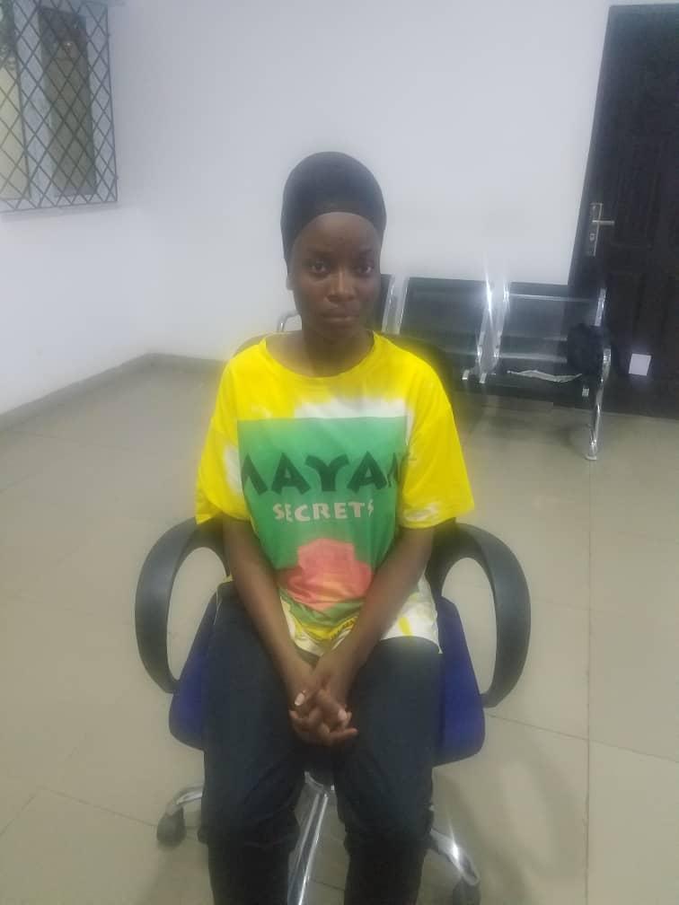 Police Arrest IPOB/ESN's Female Spy