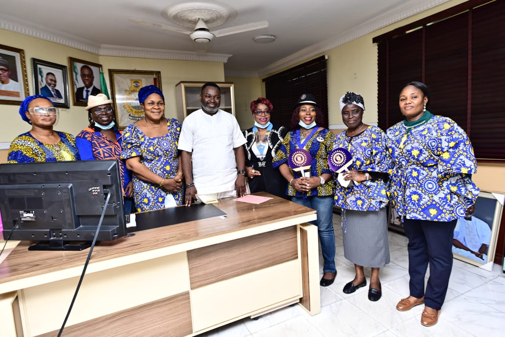 Inner Wheel Club Pays Courtesy Visit To Oshodi Council Boss; Organizes Free Medical Check-up