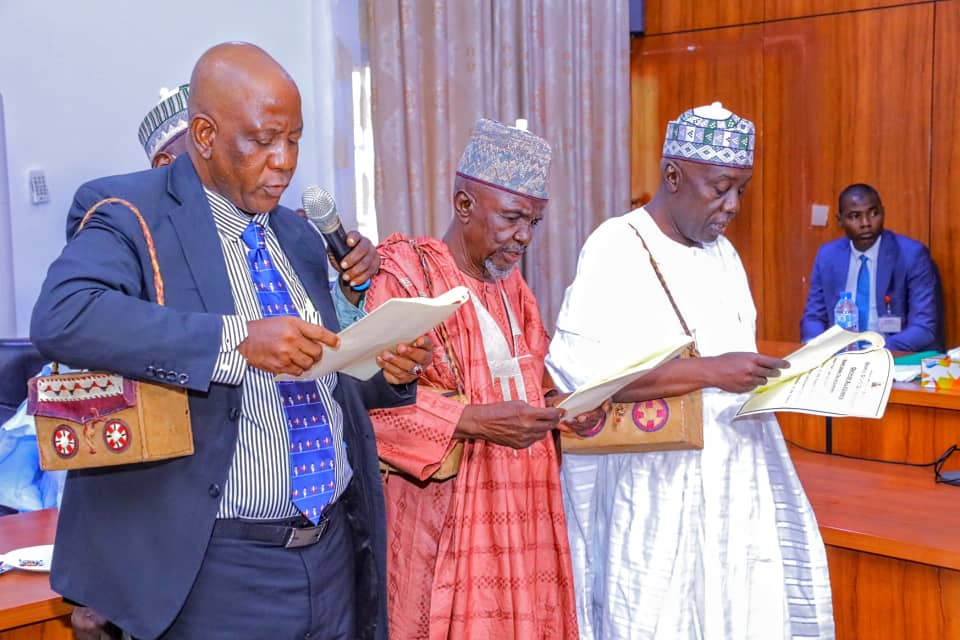 Zulum Swears-in New Commissioner, Judicial Council Members