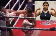 Husband Watches As His Teenage Wife Is Knocked To Death In A Boxing Bout