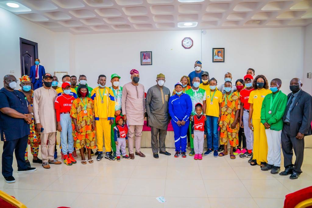 Fayemi Rewards Outstanding Ekiti Sportsperson, Officials; Calls For Private Sector Involvement In Sports Development