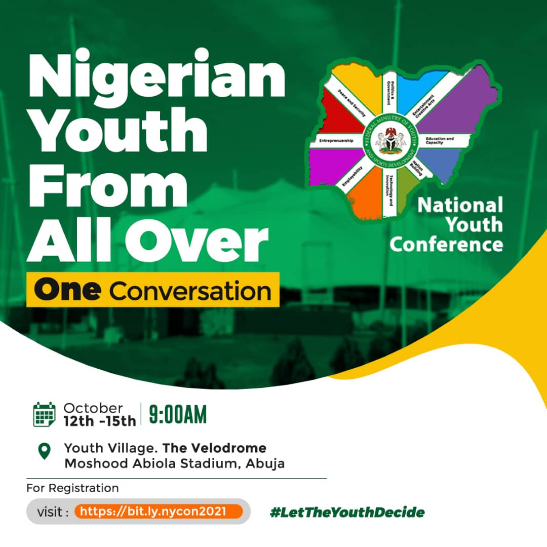 National Youth Conference: Time To Come To The Table Is Now, Youth Minister