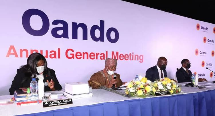 Oando Holds AGM, Shareholders Applaud Wale Tinubu-led Management
