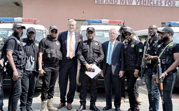 IGP Vows To Tighten Security Nationwide, As German Government Donates Vehicle