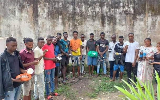 NDLEA Blocks Australia-bound Drugs Hidden In Ladies' Shoes, Body Cream; Bursts Drug Joints In Lagos, Oyo, Kwara; Arrests 110 Dealers + Photos