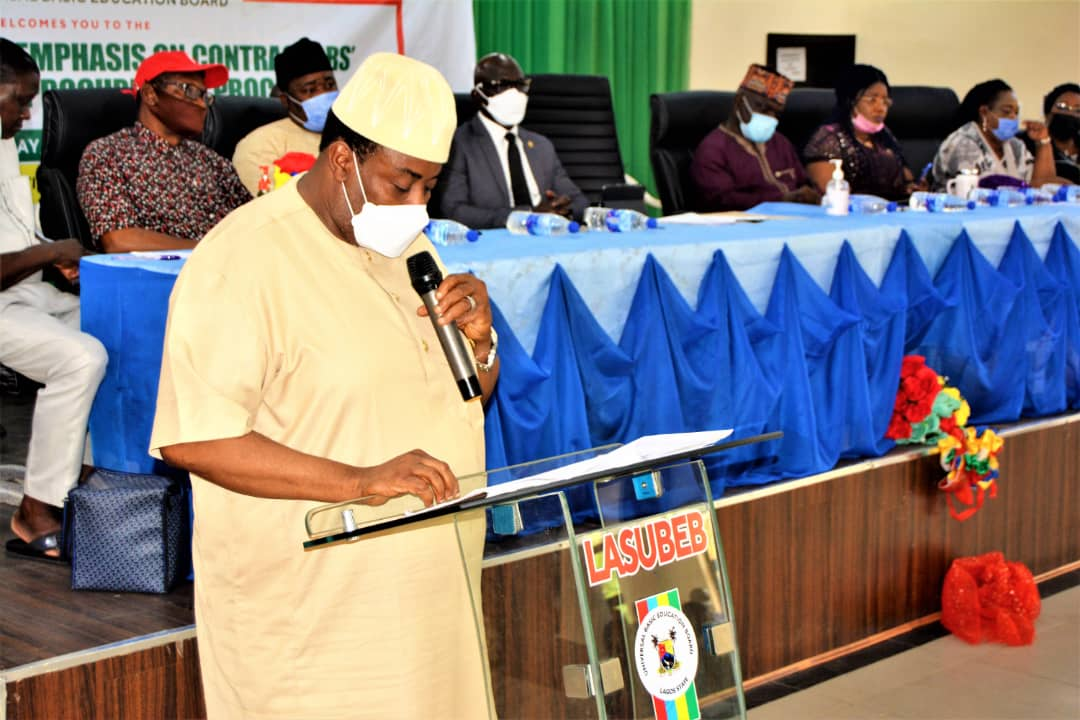LASUBEB Holds pre-Bid Meeting With Contractors For Y2019/Y2020 UBEC/LASUBEB Intervention Projects