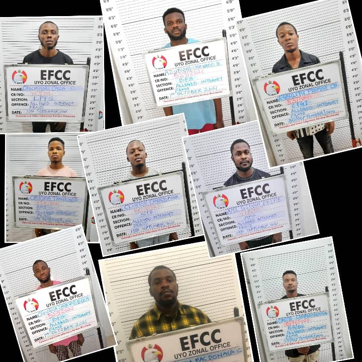 Court Convicts Nine 'Yahoo Boys', Two Others In Calabar