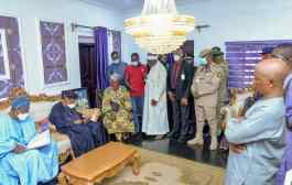 In Pictures, Aregbesola Visits Alaafin