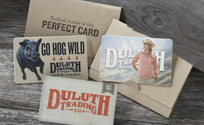 Duluth Trading giftcard