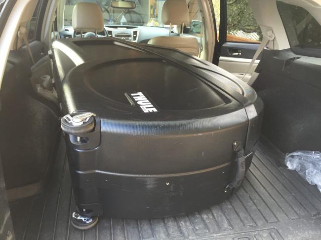 Thule in the Subaru