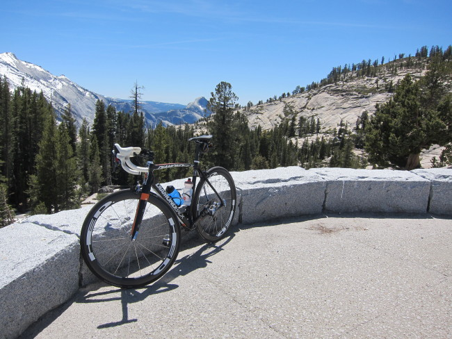 Biking Tioga Road