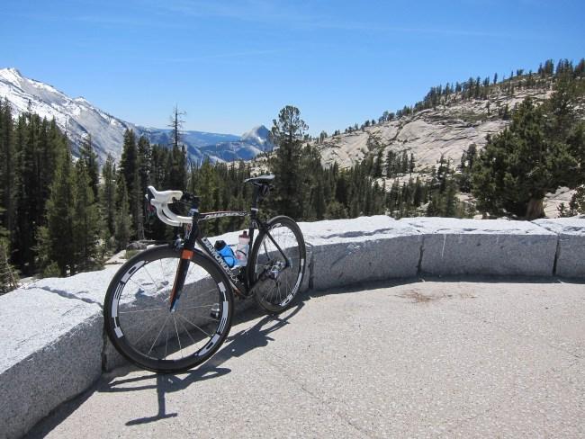 Biking Tioga Road