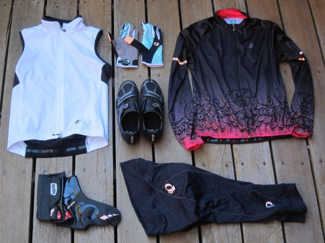 cool weather cycling apparel