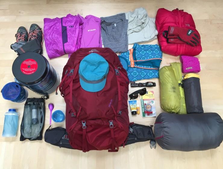 Yosemite Backpacking Essentials