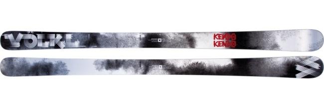 Backcountry skis