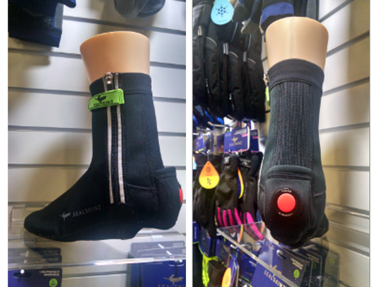 SealSkinz bike overshoes