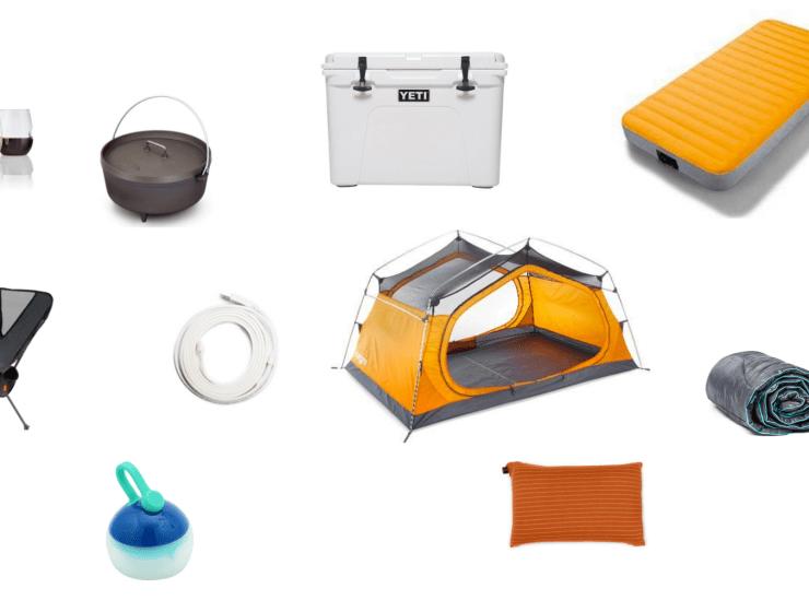 car camping gear