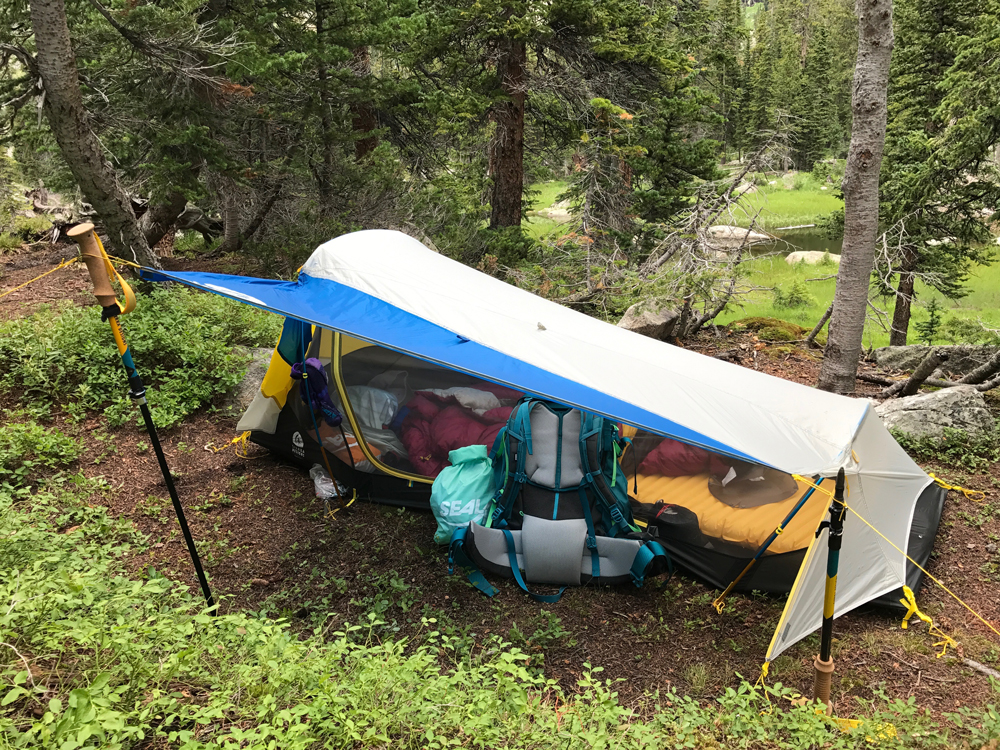 high side tent