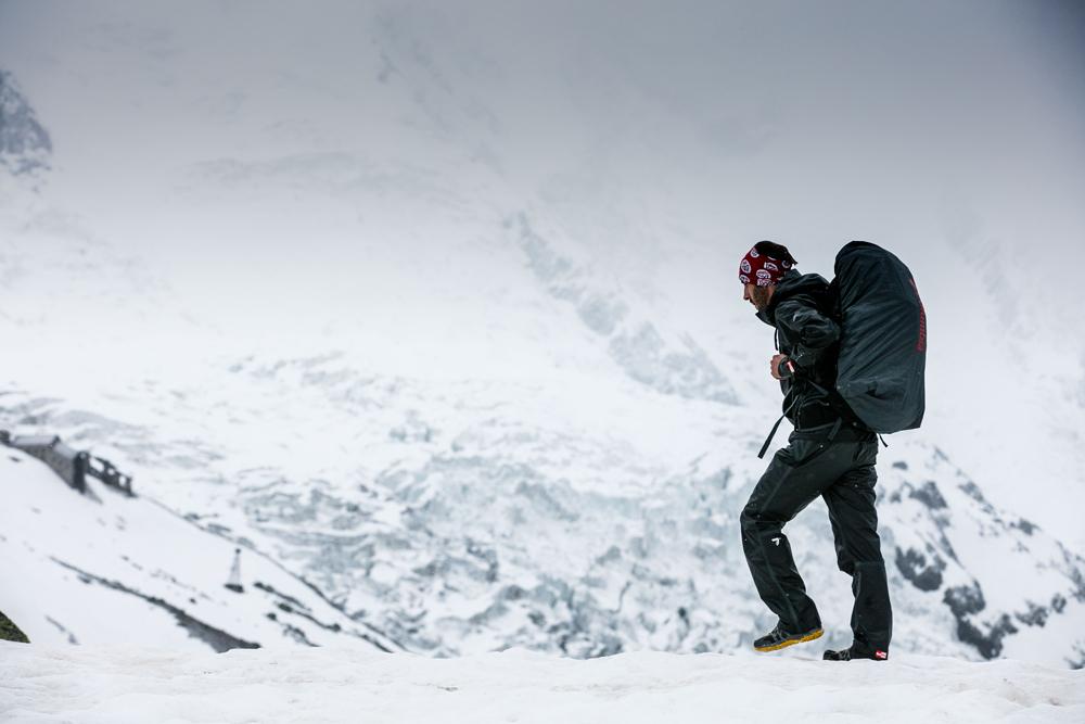 Snowy Chamonix
