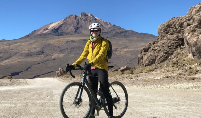 Bolivia volcano