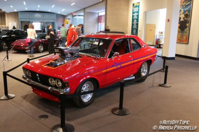 1972 Dodge Colt modified in the style of 1980s-90s Pro-street. | image: Andrew Pascarella